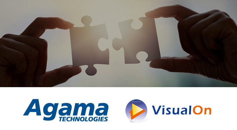 Partnership Agama VisualOn, OTT