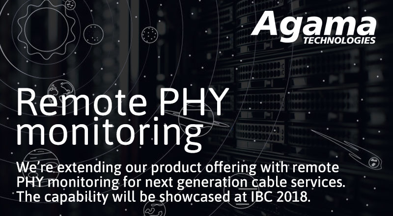 Remote PHY monitoring
