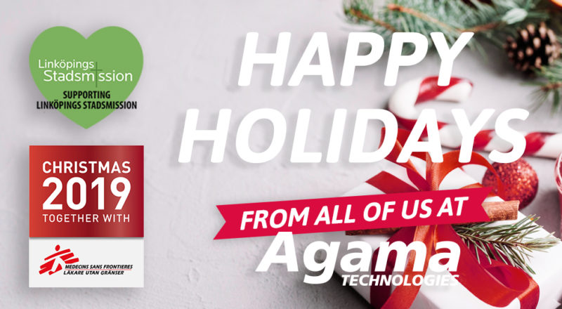 Warmest season's greetings from the whole Agama team!