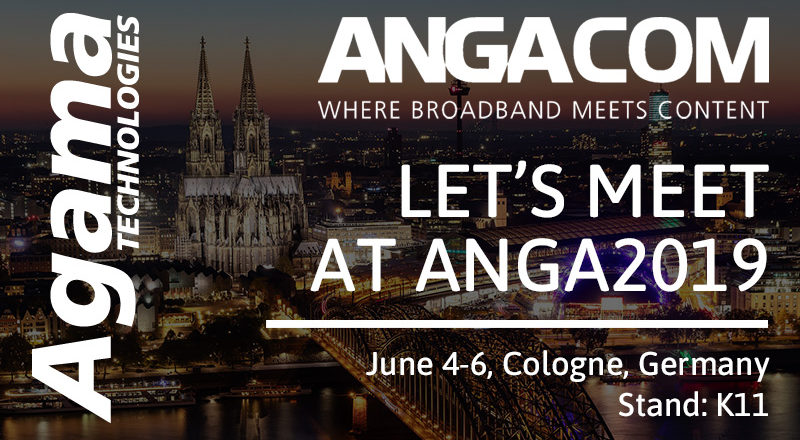 Let's meet at AngaCom 2019!