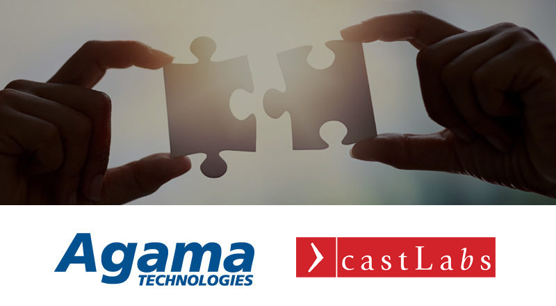 Agama and castLabs partnership