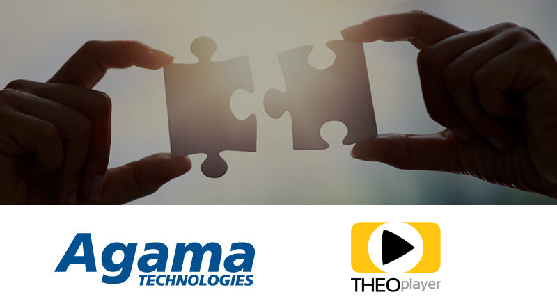Agama & THEOplayer